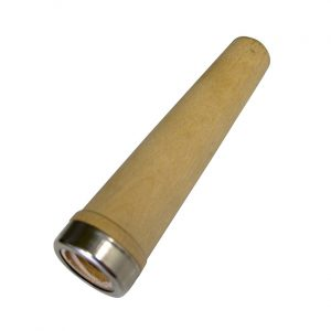 Wooden tapered adaptor.