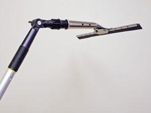 Angle adaptor with suqeegee.