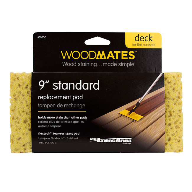"9"" standard deck staining replacement pad"