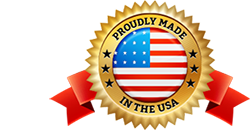 Proudly Made in the USA logo