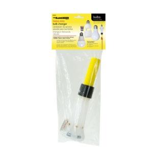 Heavy duty bulb changer packaging.