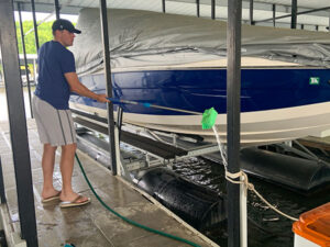 Getting the Boat Ready for Summer